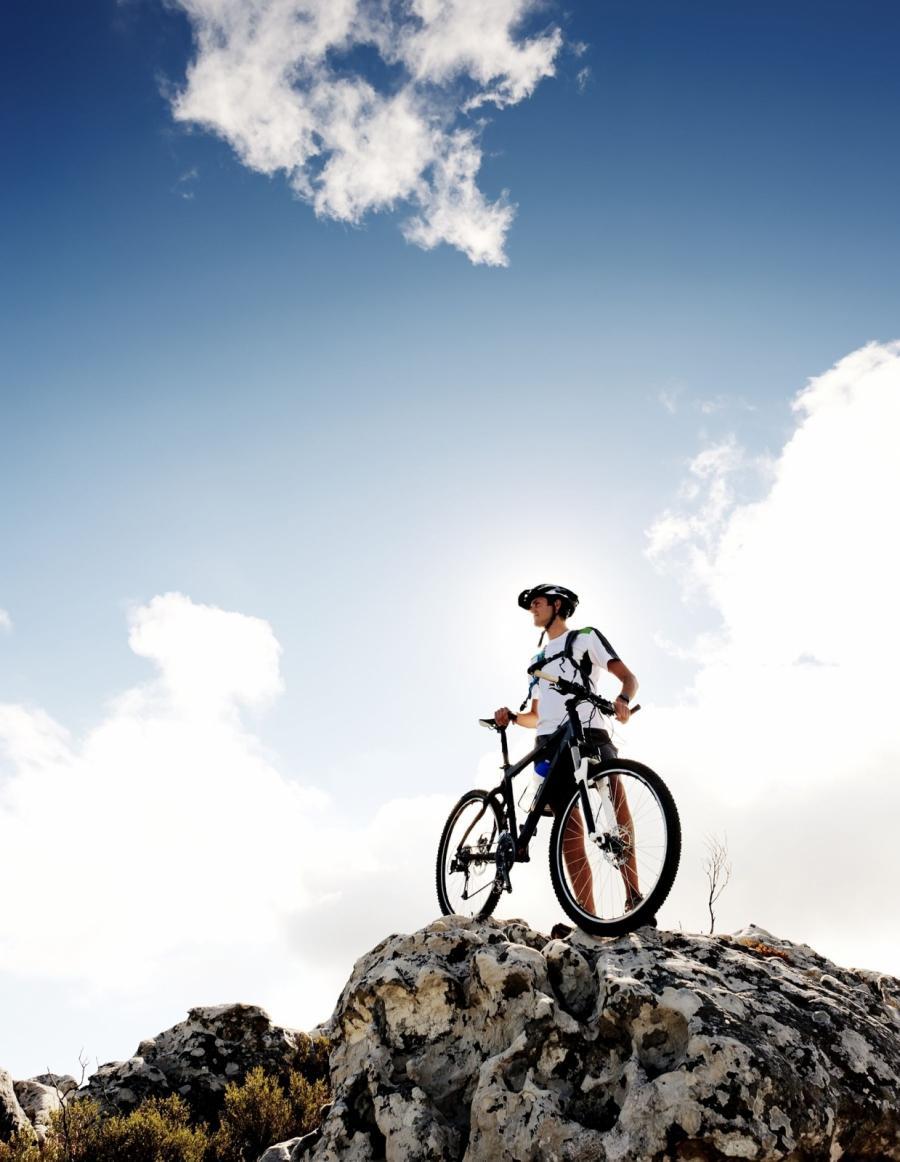 In Mountain Bike al Villaggio Arco Naturale Club!