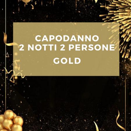 Capodanno 2 notti per 2 persone GOLD