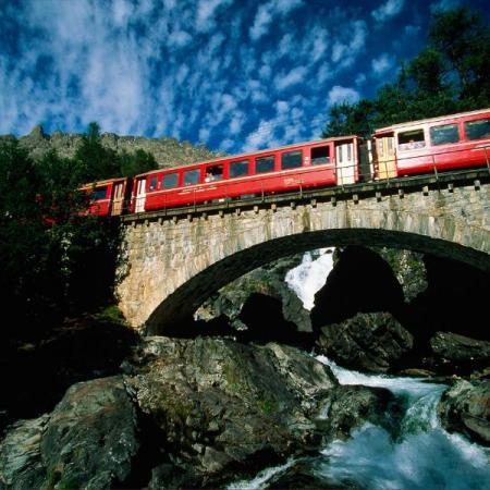 Speciale Trenino Rosso del Bernina