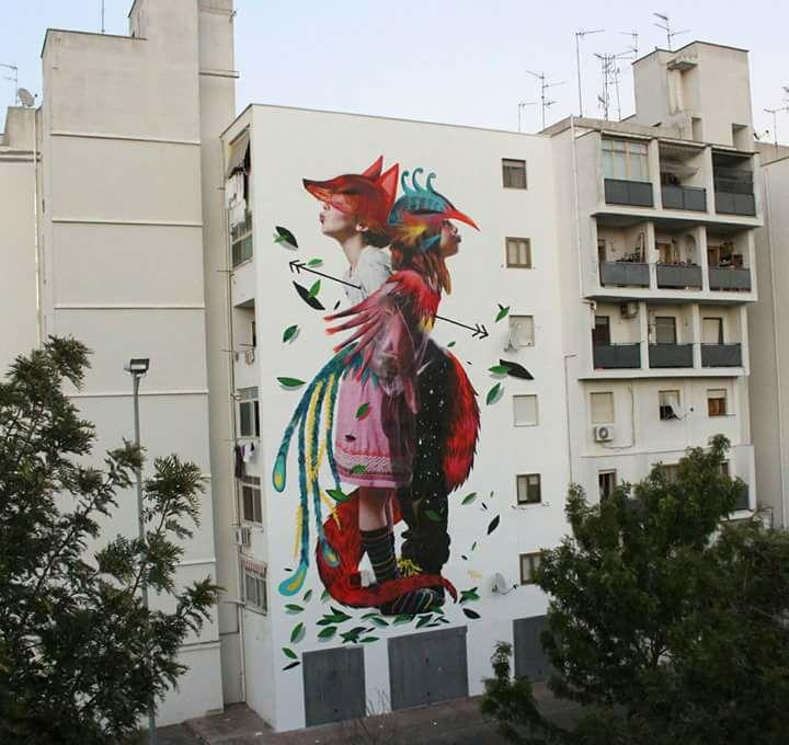 167/b street art graffiti murales