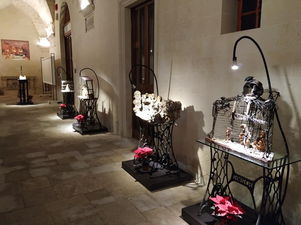 ezechiele leandro presepi pinacoteca caracciolo evento consigliato hotel delle palme lecce salento