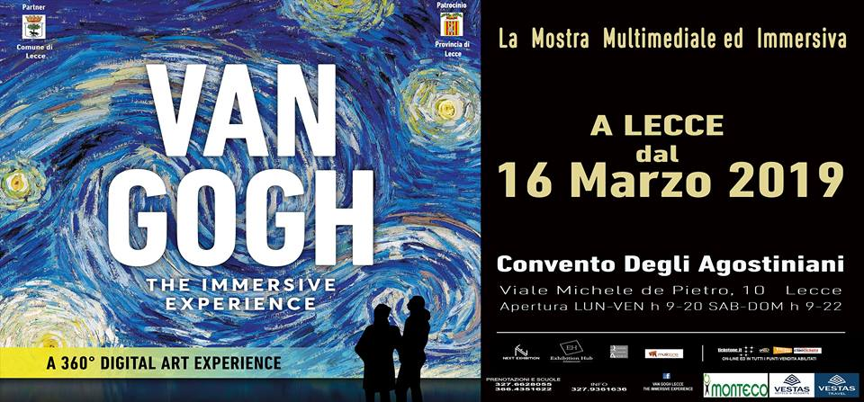 VAN GOGH LECCE  The Immersive Experience