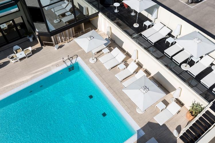 hotel sporting rimini - piscina