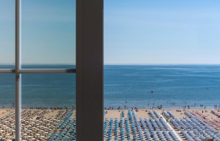hotel sporting rimini - vista mare